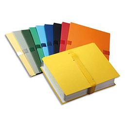 Chemise extensible Elba Color Life - papier toilé - fermeture par sangle velcro - bleu foncée