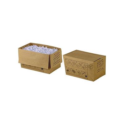 Sacs en papier recyclé pour destructeurs de documents - 34 L - marron - boîte 50 unités