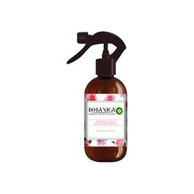 Spray d'intérieur botanica parfum Géranium et rose des îles - flacon 237ml