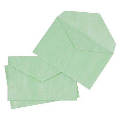Enveloppe élections La Couronne - 90 x 140 mm - 70 g/m² - fermeture autocollante - vert - paquet 1000 unités