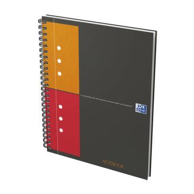 Cahier de bureau Notebook Oxford - A5+ - 160 pages perforées - 80 g - 5x5