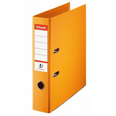 Classeur à levier N°1 Power Esselte - dos 7,5 cm - polypropylène - Vivida jaune