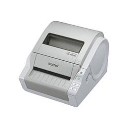 Brother TD-4000 - Imprimante d'étiquettes - papier thermique - Rouleau A6 (10,5 cm) - 300 ppp - jusqu'à 110 mm/sec - USB, série (photo)