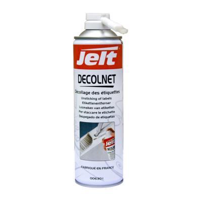 Aérosol Jelt Decolnet pour décoller les étiquettes - 650 ml (photo)