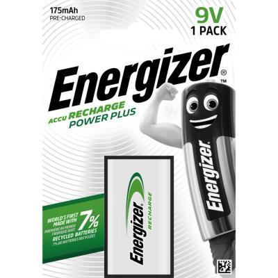 Pile Energizer 6HR61 Power Plus - rechargeable - 175 mAh - 9V - blister de 1 pile