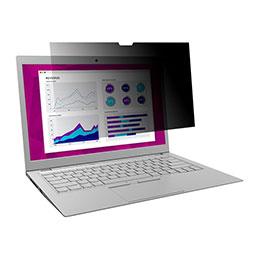 Filtre de confidentialité  High Clarity 3M - Filtre de confidentialité pour ordinateur portable - 13.5
