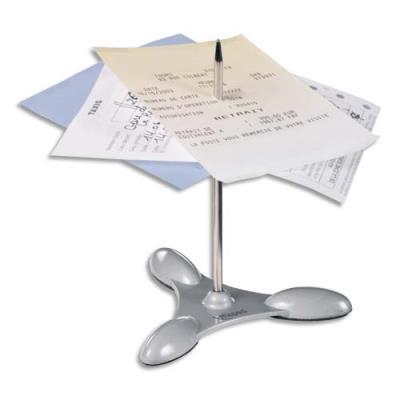 Pique-notes de table Maped - gris métalisé (photo)