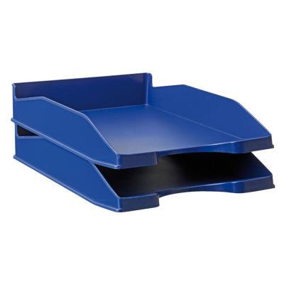 Corbeille à courrier 1er prix - bleu