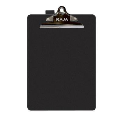 Porte-documents avec porte-stylo - polypropylène - 25 feuilles - 340 x 235 mm - noir