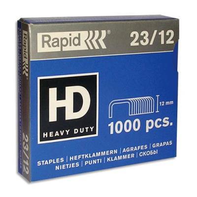 Agrafes Rapid Nº23/12 - boîte de 1000 (photo)