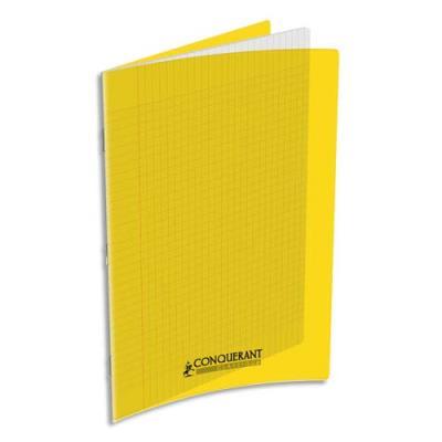 Cahier Oxford - couverture polypropylène - A4 - 90 g - 48 pages - Seyès - jaune