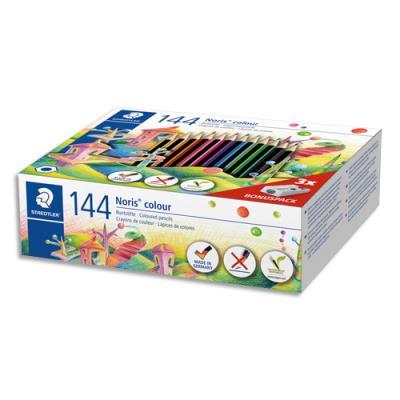 Classpack Staedtler de 144 crayons de coloris assortis + 3 taille crayons offerts (photo)