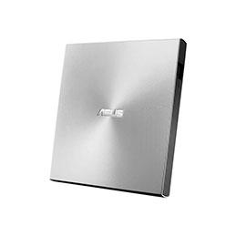 ASUS ZenDrive U9M SDRW-08U9M-U - Lecteur de disque - DVD±RW (±R DL) - 8x/8x - USB 2.0 - externe - argent - pour 15; ROG Strix G15; ROG Zephyrus Duo 15; ROG Zephyrus G14; TUF505; ZenBook 13 (photo)
