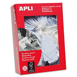 Etiquettes Agipa Bijouterie - format 22 x 35 mm - paquet de 500