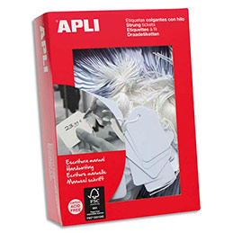 Etiquettes Agipa Bijouterie - format 13 x 20 mm - boîte de 500