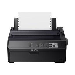 Epson FX 890II - Imprimante - monochrome - matricielle - Rouleau (21,6 cm), JIS B4, 254 mm (largeur) - 240 x 144 dpi - 9 pin - jusqu'à 738 car/sec - parallèle, USB 2.0 (photo)