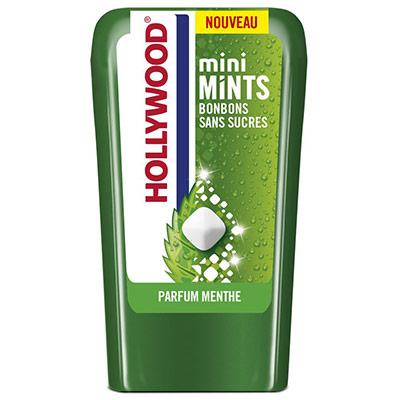 Mini Mints Bonbons sans sucres - parfum menthe - boîte de 12,5 g - lot de 10 boîtes + 2 gratuites