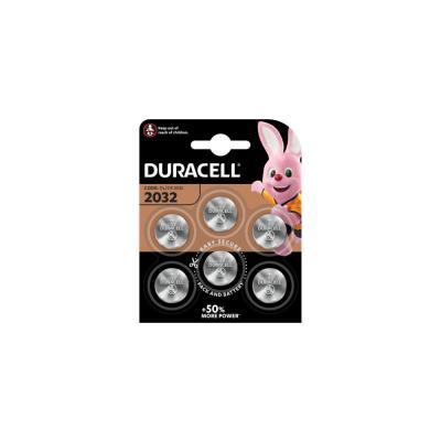 Pile bouton Lithium Duracell CR 2032- lot de 6