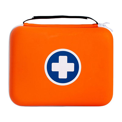 Trousse de secours SaveBox maxi - 10 à 20 personnes - 2 trousses + 1 OFFERTE (photo)