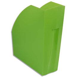 Porte-revues Exacompta Iderama - L29,2 x H32 x P11 cm - vert transparent