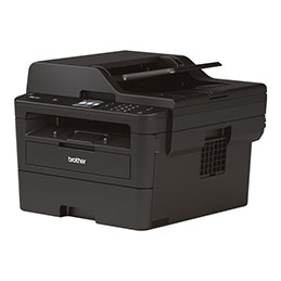Brother MFC-L2750DW - Imprimante multifonctions - Noir et blanc - laser - Legal (216 x 356 mm) (original) - A4/Legal (support) - jusqu'à 34 ppm (copie) - jusqu'à 34 ppm (impression) - 250 feuilles - 33.6 Kbits/s - USB 2.0, LAN, Wi-Fi(n), NFC (photo)