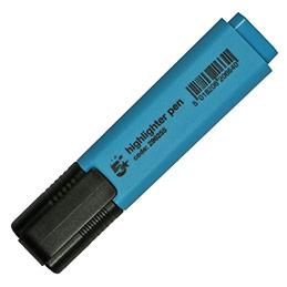 Surligneur économique - pointe biseautée - coloris bleu