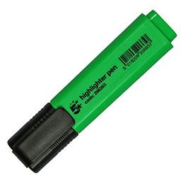 Surligneur économique - pointe biseautée - coloris vert