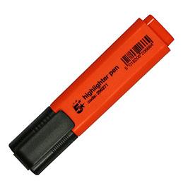 Surligneur économique - pointe biseautée - coloris orange