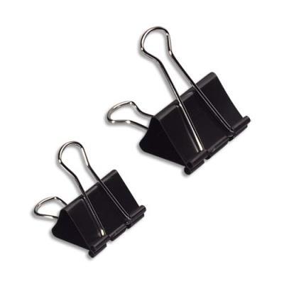 Pinces à dessin Safetool largeur 25 mm - capacité 8 mm - boîte de 12 pinces