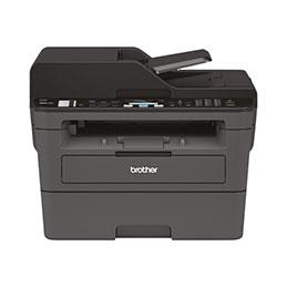 Brother MFC-L2710DN - Imprimante multifonctions - Noir et blanc - laser - Legal (216 x 356 mm) (original) - A4/Legal (support) - jusqu'à 30 ppm (copie) - jusqu'à 30 ppm (impression) - 250 feuilles - 33.6 Kbits/s - USB 2.0, LAN (photo)