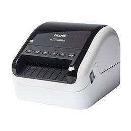 Brother QL-1110NWB - Imprimante d'étiquettes - papier thermique - Rouleau (10,36 cm) - 300 x 300 ppp - jusqu'à 110 mm/sec - USB 2.0, LAN, Wi-Fi(n), Bluetooth 2.1 EDR (photo)