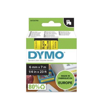 Ruban Dymo D1 poly - 12mm x 7m - Blanc/Transparent - BB1 S0720600