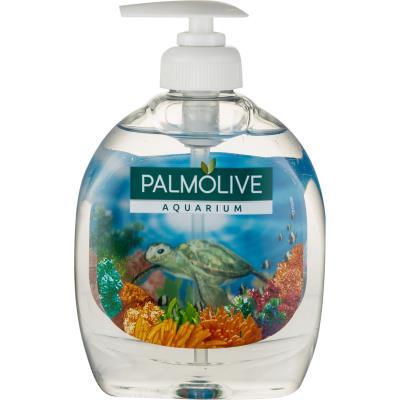 Flacon de savon 300 ml POUSS MOUSSE - motif aquarium (photo)