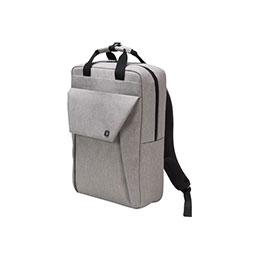 DICOTA EDGE - Sac à dos pour ordinateur portable - 15.6'' - gris clair (photo)