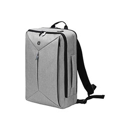 DICOTA Dual EDGE - Sac à dos pour ordinateur portable - 15.6'' - gris clair (photo)
