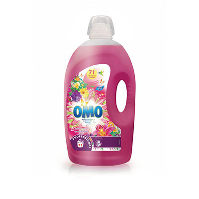 Lessive liquide professionnelle aux huiles essentielles parfum lilas tropical & ylang ylang - bidon 5 l - bidon 5 L (photo)