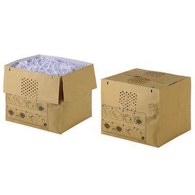 Sacs en papier recyclé pour destructeurs de documents Auto+ 600X/M - 80 L - marron - paquet 50 unités