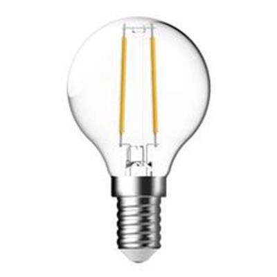 Ampoule LED à filament 4W - culot E14 - 470 lumens - 2700K - classe A++ (photo)
