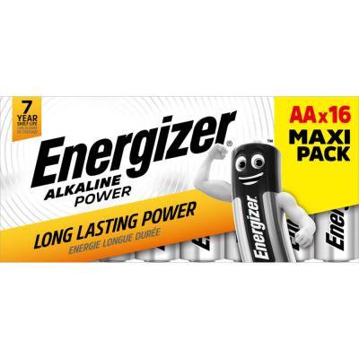 Piles AA LR06 Energizer Power - blister de 16 piles