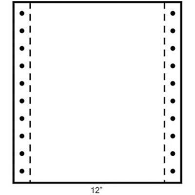 Papier listing Exacompta 240 x 305 mm  blanc 3 plis autocopiants : 56+53+57g/m² - carton de 1000 Feuilles