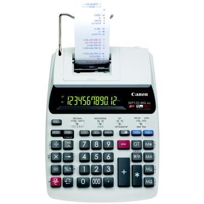 Calculatrice imprimante professionnelle Canon MP-120-MG-ES  - 12 chiffres