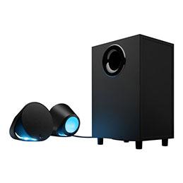 Logitech G560 - Système de haut-parleur - pour PC - Canal 2.1 - sans fil - Bluetooth - USB - 120 Watt (Totale)
