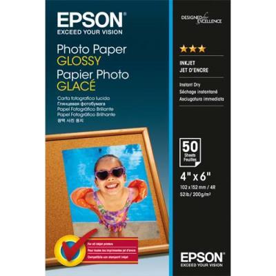 Papier photo Epson - brillant - jet d'encre - 102x152 mm - paquet de 50 feuilles (photo)