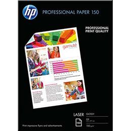 Papier photo professionnel HP CG965A - laser - brillant - 150g - A4  - pack de 150 (photo)