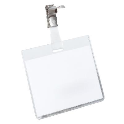 Badges à clip Durable - fermé - boîte de 25