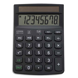Calculatrice de bureau Citizen ECC 210 ECO (photo)