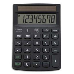 Calculatrice de bureau Citizen ECC 210 ECO (photo)