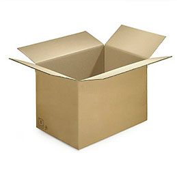 Caisse carton brune - simple cannelure -  50 x 40 x 40 cm - lot de 20 (photo)