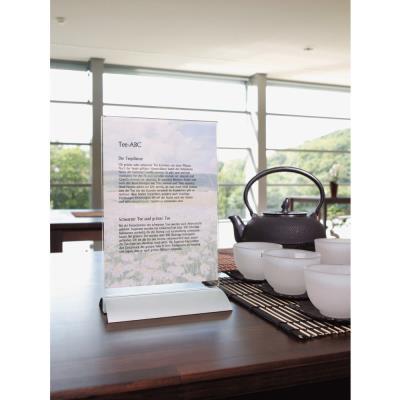 Presentoir de table Durable - pour format A4