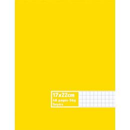 Cahier éco - piqué - couverture polypro - 96 pages - 24 x 32 cm - 90g - petits carreaux - violet